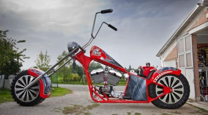 Cea mai mare motocicleta din lume