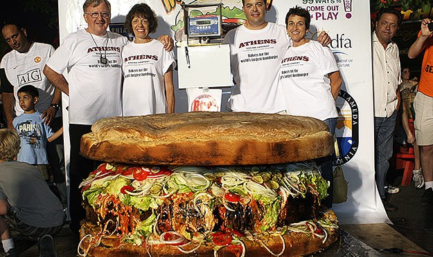 Cel mai scump hamburger din lume