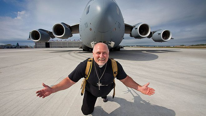 Cel mai greu avion tras de un barbat