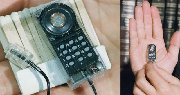 Cel mai mic telefon fix din lume