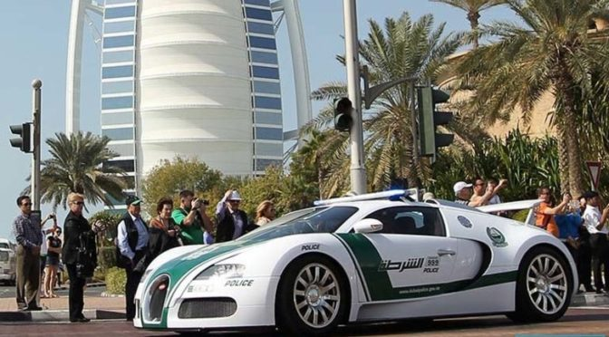 Cea mai rapida masina de politie folosita in misiuni
