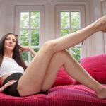 Femeia cu cele mai lungi picioare
